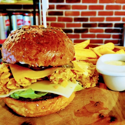 Coffe Shop & Burger2